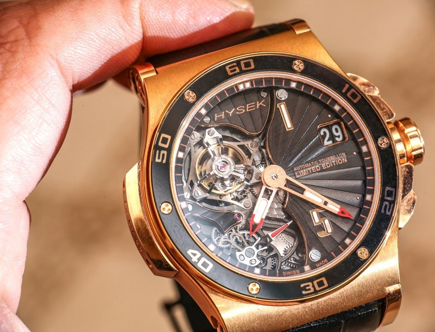 A Closer Look At Hysek Abyss 44mm Tourbillon Replica Watch