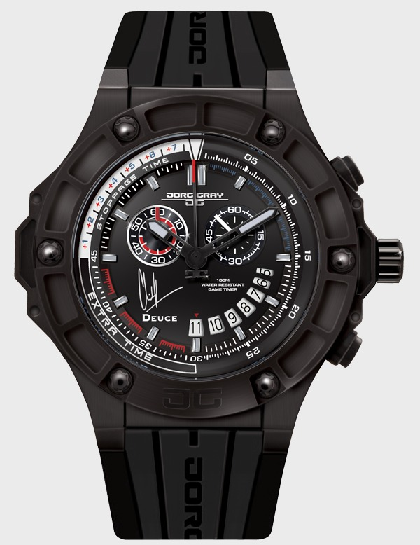 The Jorg Gray Clint Dempsey Limited Edition Game Timer Watch + Interview ABTW Interviews