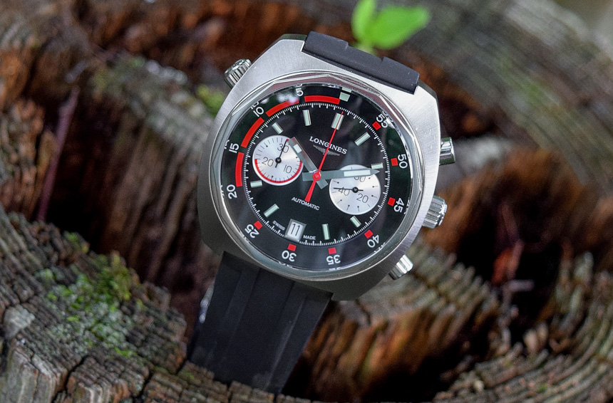 Longines Heritage Diver Chronograph Series Rubber Strap Replica Watches