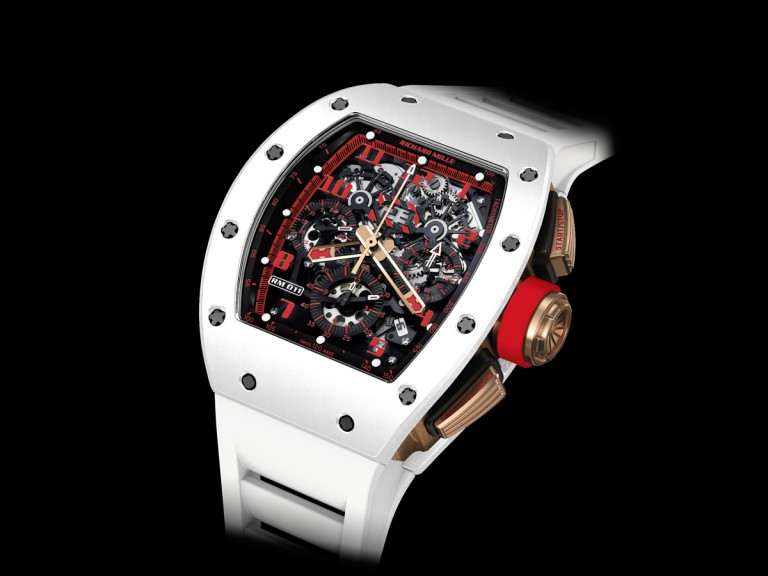 We Take A Closer Look At Richard Mille White Demon Chronograph Mens Replica