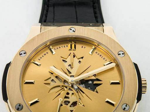 Shawn Jay-Z Carter Classic Fusion by Hublot in 18K yellow gold