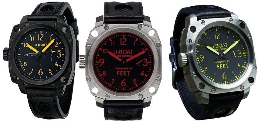 Luxury Swiss Made Replica U-boat Thousands Of Feet Chronograph Watches Review
