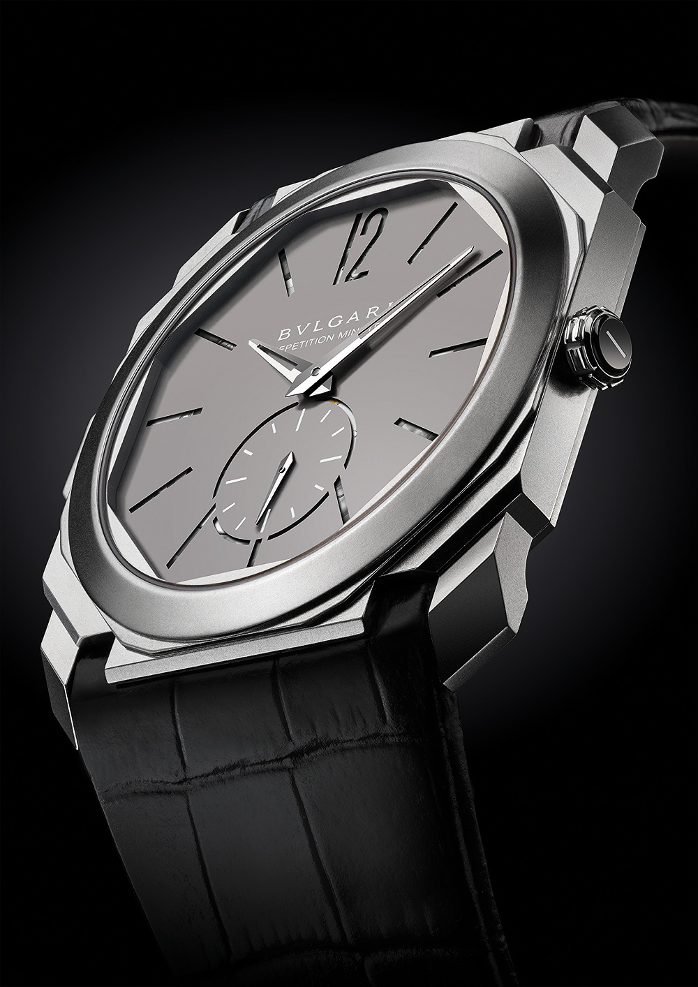 Bulgari Octo Finissimo Minute Repeater - front-angle