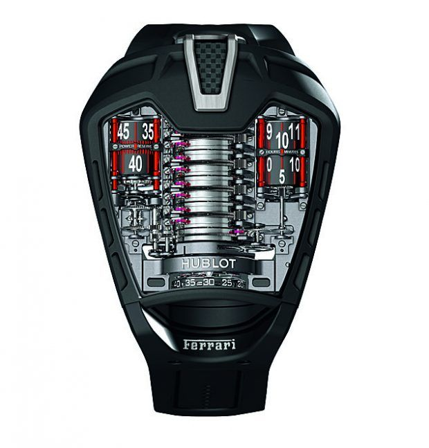 Hublot MP-05 La Ferrari, 50 pieces, PVD-coated titanium