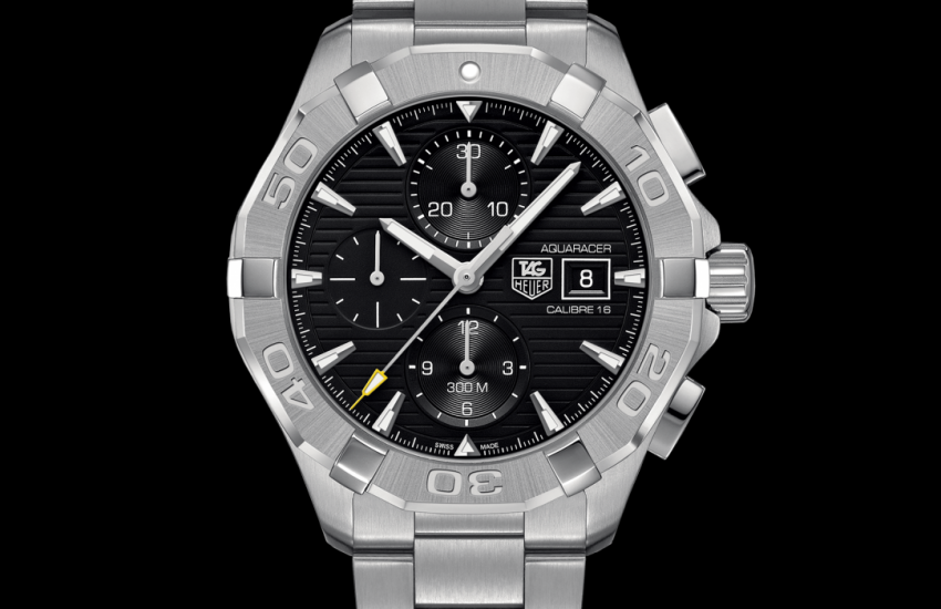 Tag heuer aquaracer calibre 16 automatic chronograph 43 mm cay2110 ba0927 watch price discount for Tag heuer discount