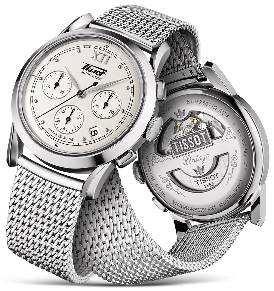 Tissot Heritage 1948 Chronograph Watch Watch Releases