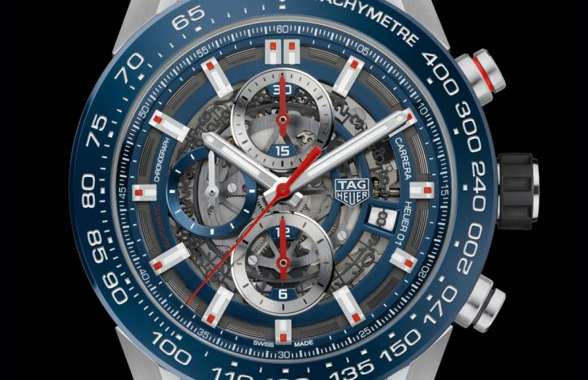 dbdb54326d7 Luxury TAG Heuer Shrinks its Bestselling Chronograph with the ...