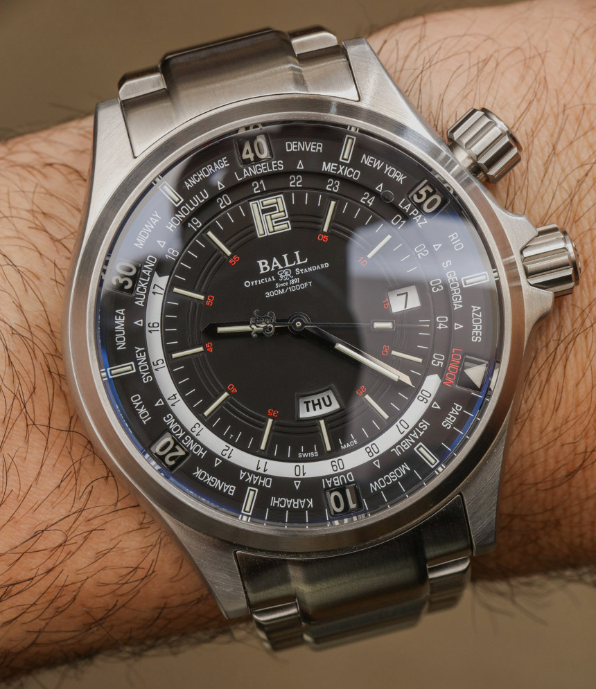 Ball Engineer Master II Diver Worldtime Watch Review Wrist Time Reviews