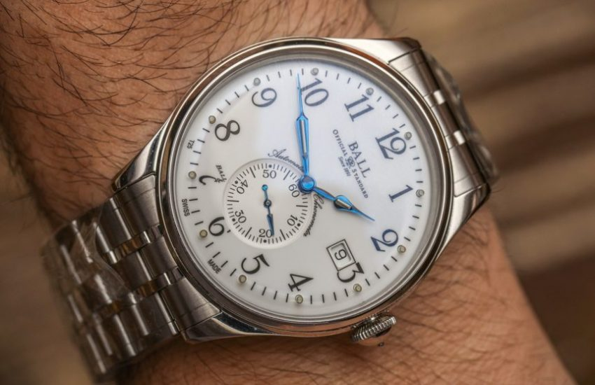 Ball Trainmaster Standard Time Watch Hands-On Hands-On