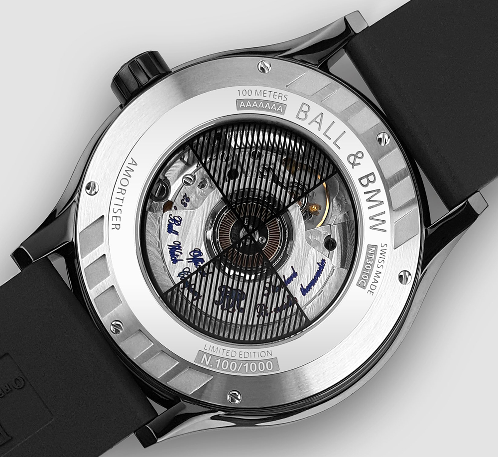 Ball For BMW TMT Chronometer Watch Taking Preorders Watch Releases