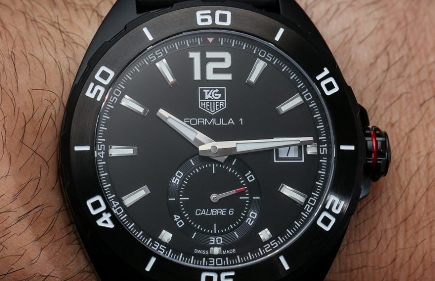c5cca8b9d690b TAG Heuer Formula 1 Automatic   Chronograph Watches For 2014 Hands-On Hands- On