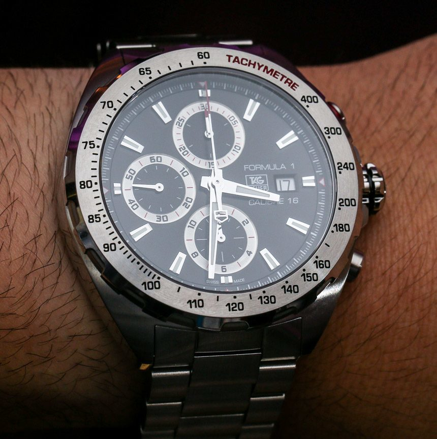 TAG Heuer Formula 1 Automatic & Chronograph Watches For 2014 Hands-On Hands-On