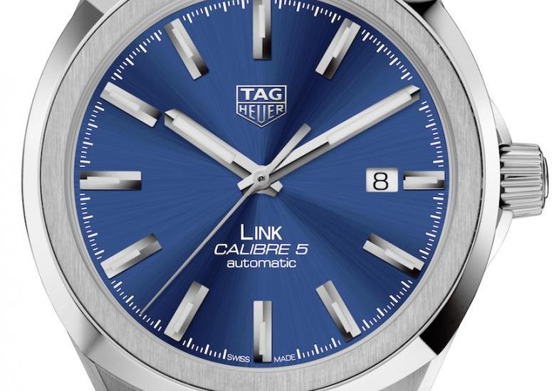 TAG Heuer Link Watches Redesigned For 2017 Watch Releases