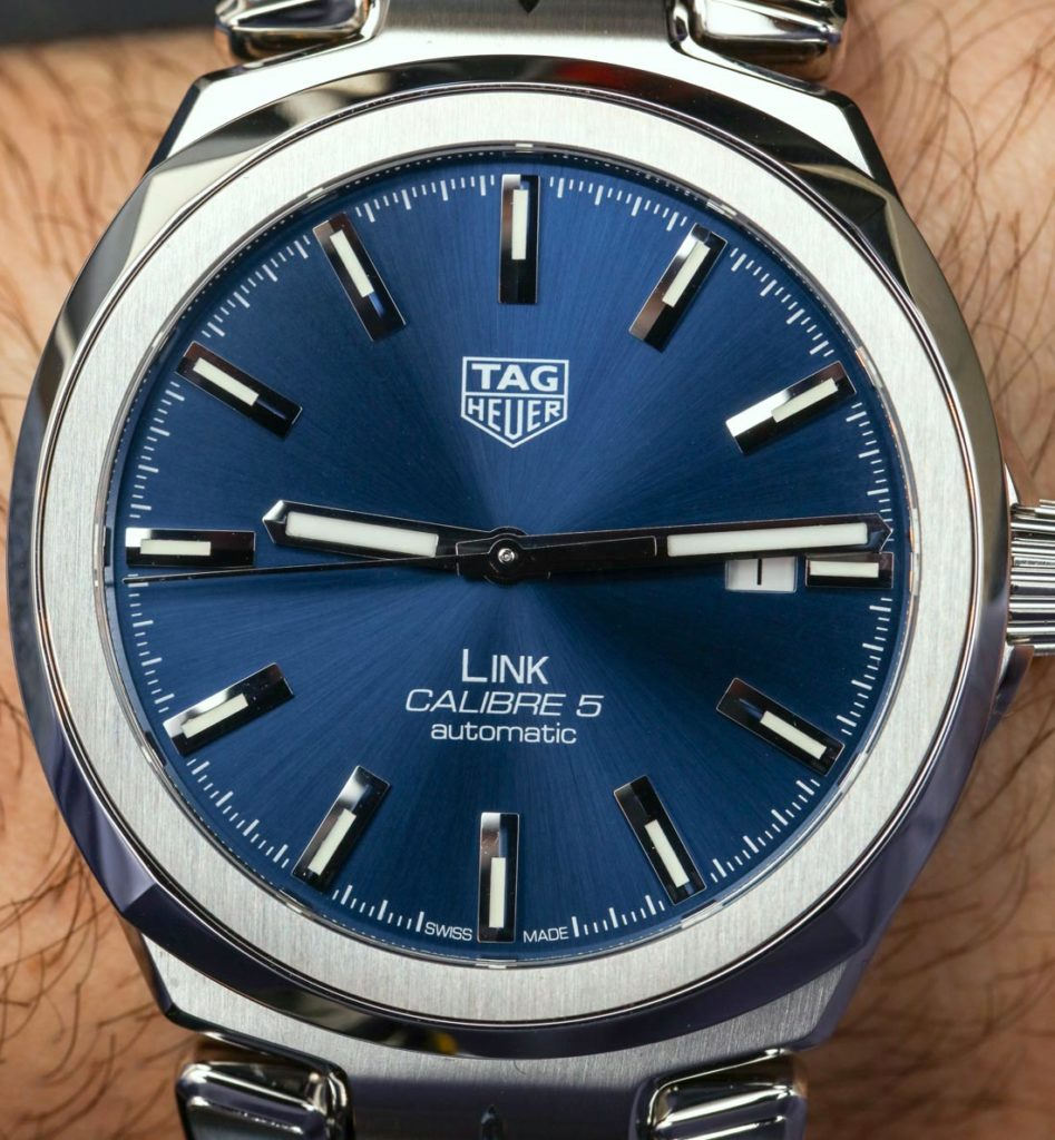 TAG Heuer Link Watch Redesigned For 2017 Hands-On Hands-On