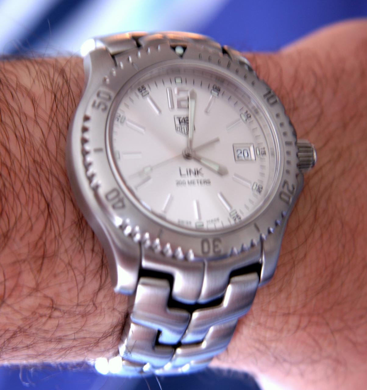 Tag Heuer Link Watch Model WT1112.BA0550 Review: The Appeal Seriously Grows On You Wrist Time Reviews