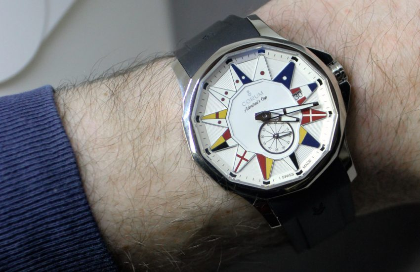 Corum Admiral Legend 42 Watch Review Wrist Time Reviews