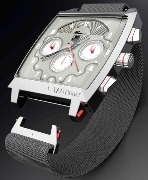 Tag Heuer Monaco Watch Re-thought By Parsons School Of Design Watch Industry News