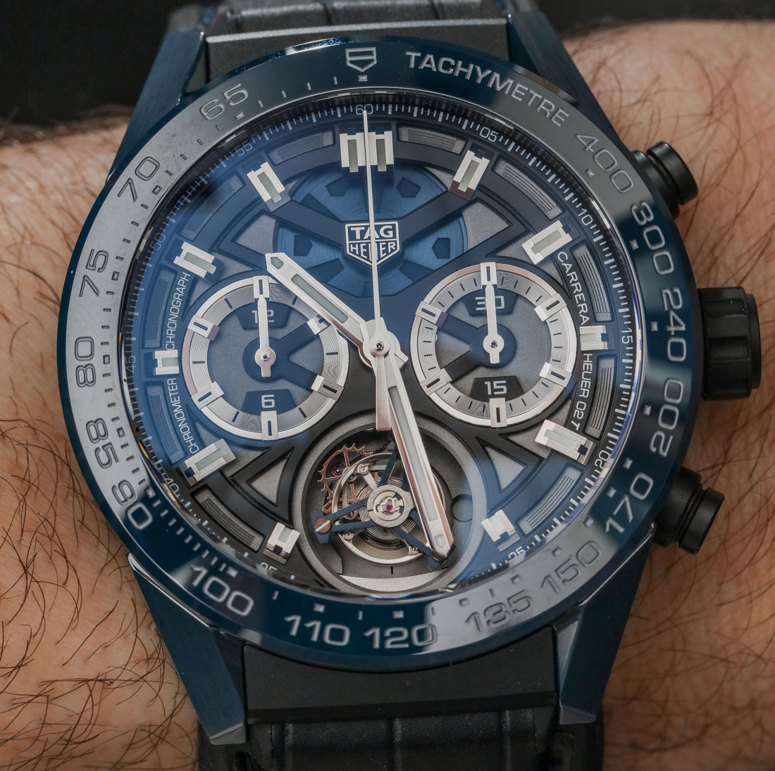 TAG Heuer Carrera 'Tête de Vipère' Chronograph Tourbillon Chronometer Hands-On Hands-On
