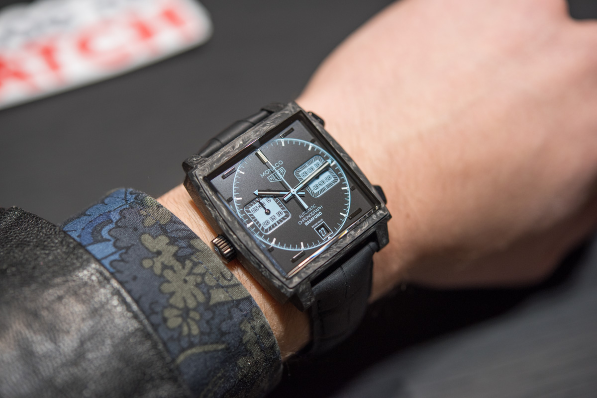 TAG Heuer Monaco Chronograph Forged Carbon Bamford Edition Hands-On Hands-On