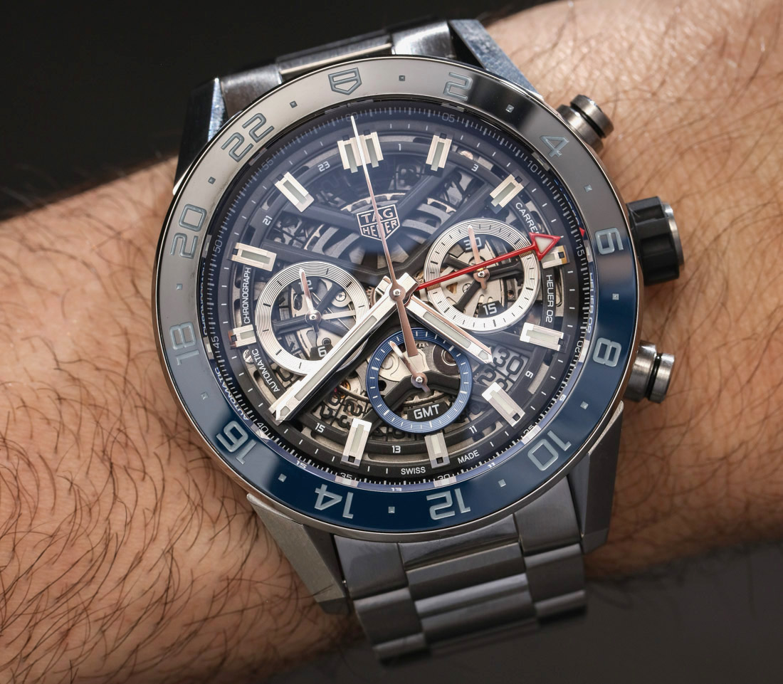 TAG Heuer Carrera Chronograph GMT Hands-On Hands-On