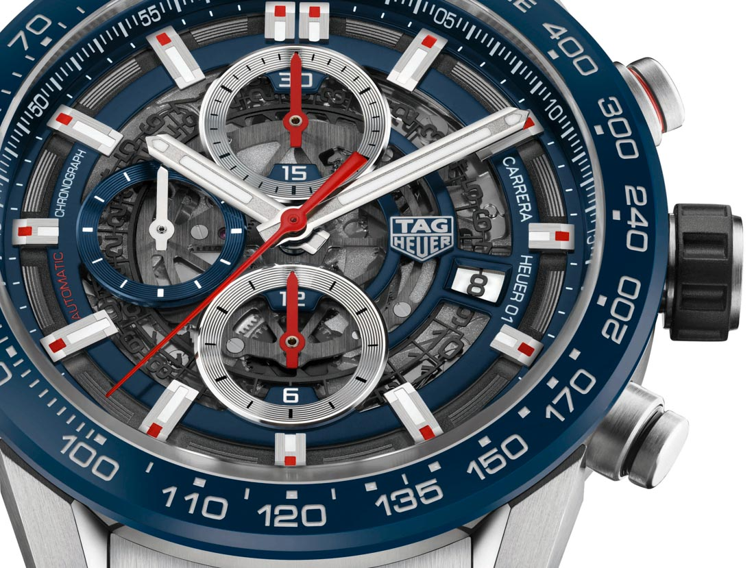 TAG Heuer Carrera Heuer-01 43mm Watches For 2017 Watch Releases