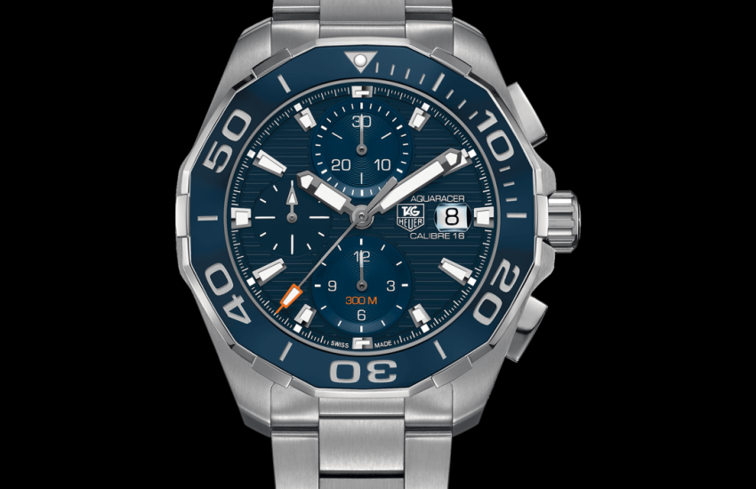 Aquaracer Calibre 16 Automatic Chronograph 300M - 43 MM Ceramic Bezel CAY211B.BA0927 TAG Heuer watch price