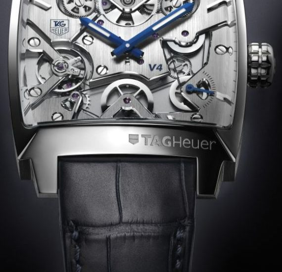 Tag Heuer Monaco V4 Limited Edition Watch Watch Releases